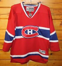 Montreal Canadiens Reebok Sewn Hockey NHL Jersey Youth L/XL  + +