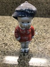 Rare Occupied Japan Figure: Boy With Blue Cap