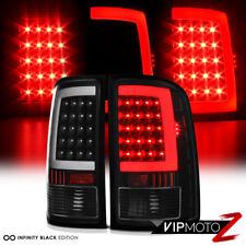 [NEWEST OLED NEON TUBE] 2007-2013 GMC Sierra 1500 2500 3500 Black LED Tail Light