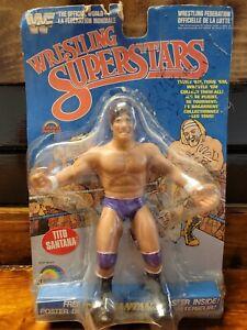 LJN Blue Card Series 5 1988 Wrestling Superstars Tito Santana SIGNED