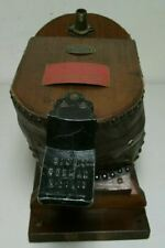 Siebe Gormna & Co Ltd Smoke Helmet Bellows Neptune Works Chessing Ton. Surrey