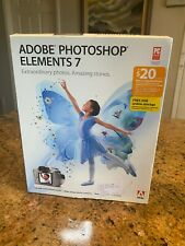 Adobe PHOTOSHOP ELEMENTS 7 with Serial Number NEW READ.