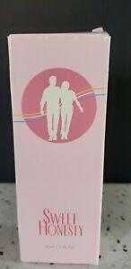 VINTAGE 1999 AVON Sweet Honesty Perfume Women 1.7 oz / 50 ml Cologne Spray