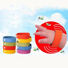 5X Anti Mosquito Bug Repellent Wrist Band Bracelet Insect Nets Bug Lock New