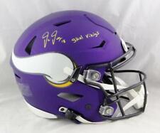 Justin Jefferson Signed Minnesota Vikings F/S SpeedFlex Helmet - Beckett W Auth