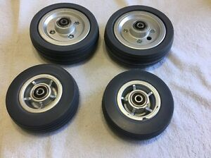 Pride Mobility J 6 Power Chair Castor Tires Set Of 4 Brand New