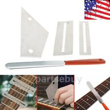 New Fret Crowning Luthier File Leveling Grinding Tool Kits for Guitar Repairing