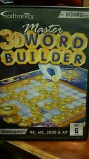 Master 3D Word Builder PC GAME - FREE POST *
