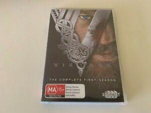 Vikings The Complete Season One 1 (Australia Region 4) DVD