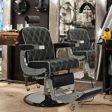 360 Swivel Heavy Duty Hydraulic Reclining Barber Chair Salon Beauty Equipment
