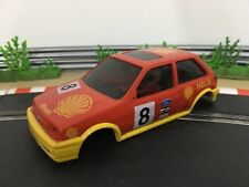 Scalextric Car Spares Ford Fiesta XR2i Red C390 Body / Shell / Cabin No8