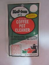 Kaf-Tan Coffee Pot Cleaner and stain remover  #KT-1  NEW 1.5 Oz.