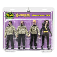 Batman Classic TV Figures: The Catwoman {Julie}  and 3 Henchman Figures 4 Pack