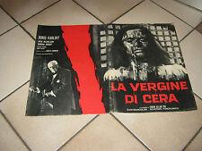 FOTOBUSTA,1964,La vergine di cera,Terror,Boris Karloff:J.Nicholson,Roger Corman