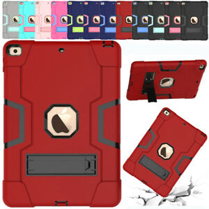 "For iPad 10.2"" 7th Gen 2019 Shockproof Hybrid Heavy Duty Rubber Hard Case Cover"