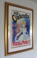Le Bal Royal Cinderella - Original Disney Painting For Poster - One Of A Kind