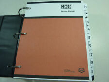 Case W14B Loader Service Manual Repair Shop Book NEW with Binder