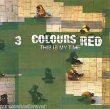 3 COLOURS RED - This Is My Time (UK 3 Tk CD Single Pt 2/Poster Insert)