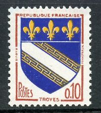 STAMP / TIMBRE FRANCE NEUF LUXE °° N° 1353A ** TROYES 3 BANDES DE PHOSPHORE