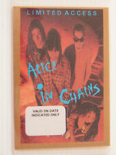 Alice In Chains Laminated LIMITED ACCESS Jar Of Flies Tour Pass