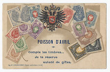 France Philatelic Ad Postcard April Fools Poisson D'Avril - Staerck - Undivided*