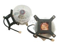 Aluminium Heatsink with Fan for 50W/100W High Power LED Light Lamp Cooling DC12V