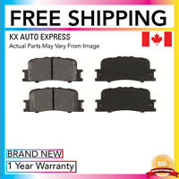 REAR CERAMIC BRAKE PADS FOR TOYOTA CAMRY 2002 2004 2005 2006 D885