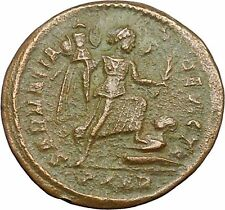Constantine I The Great 323AD Ancient Roman Coin Victory over Sarmatia i34561