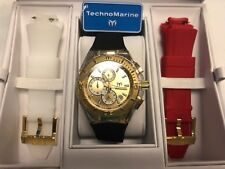 Technomarine TM-115311 Unisex Cruise Star 40mm Gold & Gold with 3 Straps