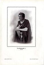 Der Opernsänger (Tenor) Otto Briesemeister als Loge Historischer Kunstdruck 1910