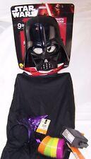 Star Wars Darth Vader Child's Halloween Costume,6+,Strobe LIght,Witch Hat,Discs