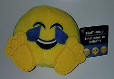 NWT Yellow Emoji Plush Stuffed Animal Toy Tears of Joy Laugh Hard Cry Fun2Play