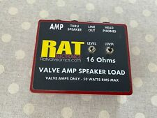RAT Valve Amp Speaker Load (16 Ohms)