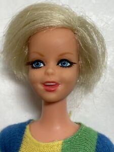 Vintage 1967 Barbie Twiggy TNT Doll In Original Outfit Legs Broken