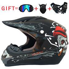 3PCS Off-road Full Face Helmet Mountain Bike Helmet Motorcycle AM SkateBoarding