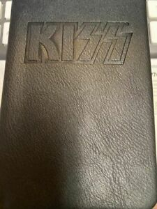 Kiss Leather Music notebook Journal Gene Simmons Paul Stanley