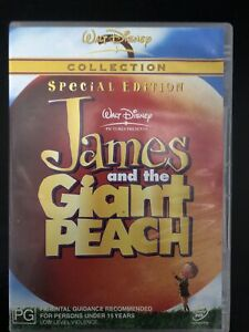 James And The Giant Peach DVD, Region 4 Special Edition Walt Disney Collection