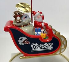 Baltimore Ravens 2009 NFL Danbury Mint Santa sleigh Christmas  Ornament