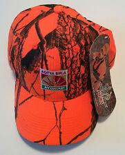 Mens Hunting Hat Hunters Orange Ball Caps Deer Moose Baseball Active Sports Home