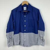 Uniform Experiment Button Shirt Size 2 Made In Japan Womens Long Sleeve
