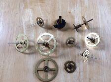 10 Brass Gear Assemblies Steampunk Art Project Repurpose