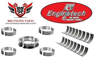 Ford 6.9l 7.3l Idi Diesel Enginetech Rod And Main Bearings 1983- 1994