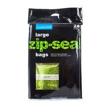 Lakeland Zip-Seal Freezer Food Bags 26cm x 29cm, Pack of 24