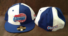 New Era 59Fifty Nba Fitted Hat Los Angeles Clippers Throwback Blue/White 8 1/4