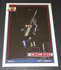 PEARL JAM Wrigley Baseball Card - Jeff Ament 4 jump - 2016 Chicago pack cubs