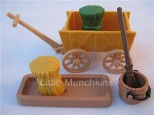 Playmobil Stable/Western/Castle/Farm: Hand cart, trough & hay NEW