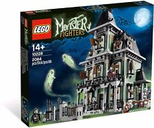 NEW LEGO HAUNTED HOUSE 10228 Set Sealed Box Monster Fighters modular 6x minifigs