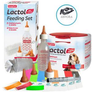Beaphar Lactol Puppy Milk Bottle Whelping ID Bands Feeding Syringe Welping Kits