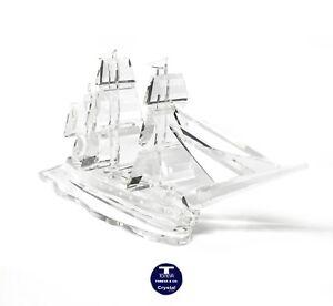 "[NEW] ""Medium Yacht"" Austrian Crystal Figurine"