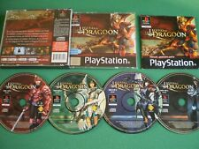 Sony PLAYSTATION PS1 LEGEND OF DRAGOON Complet 4 CD + Notice Version Française